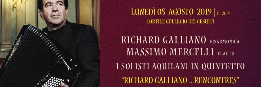 RICHARD GALLIANO – MASSIMO MERCELLI – SOL. AQUILANI