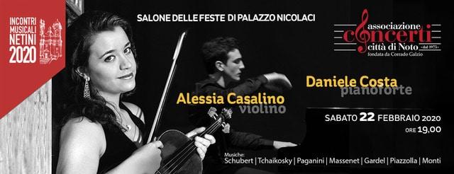 Alessia Casalino violino – Daniele Costa pianoforte