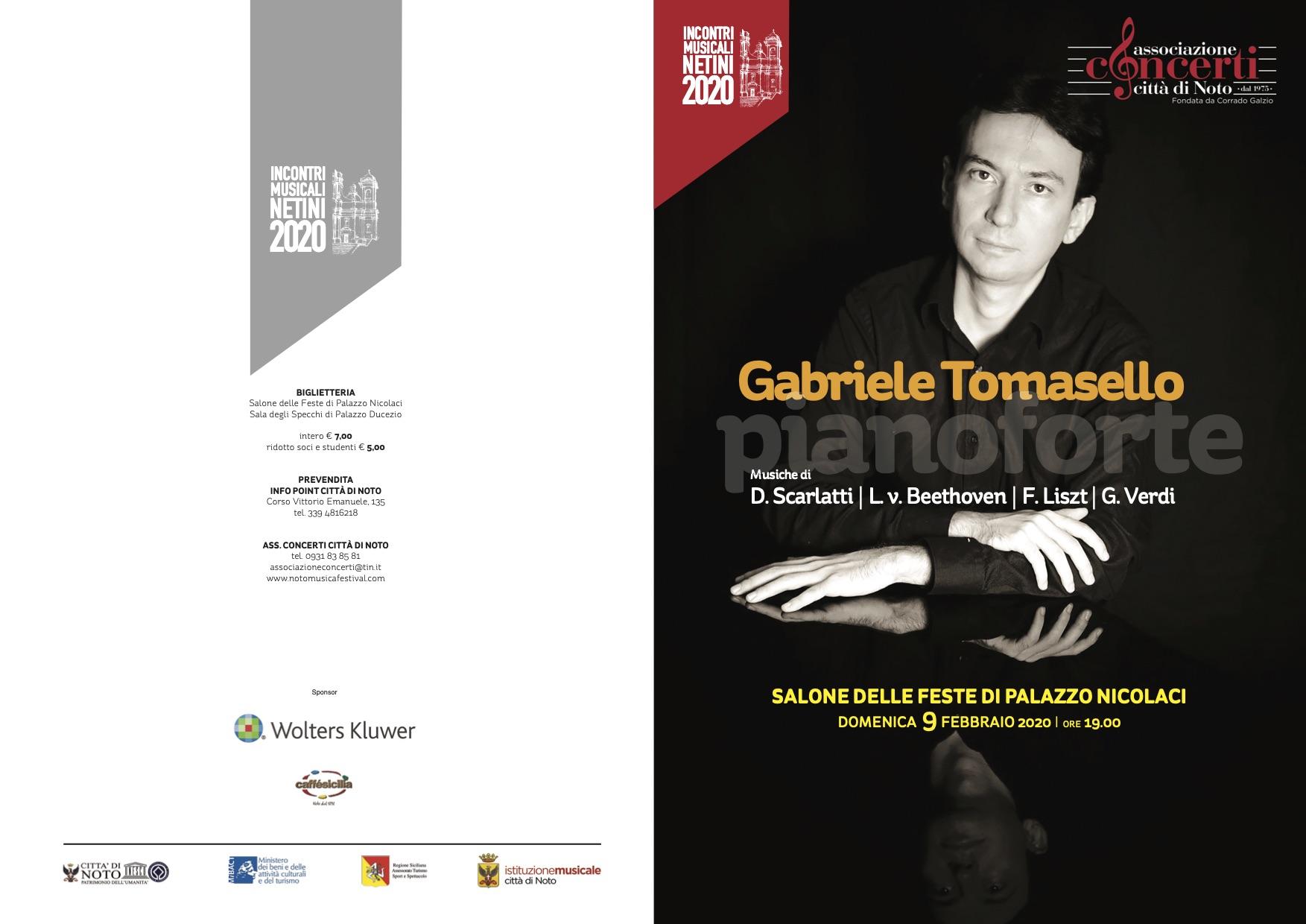 Gabriele Tomasello Pianoforte