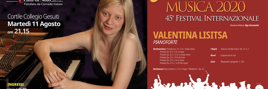 Valentina Lisitsa, la pianista star di Youtube, ospite a Notomusica