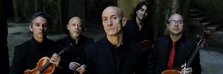 Notomusica ospita l'unica tappa siciliana di Peppe Servillo & Solis String Quartet