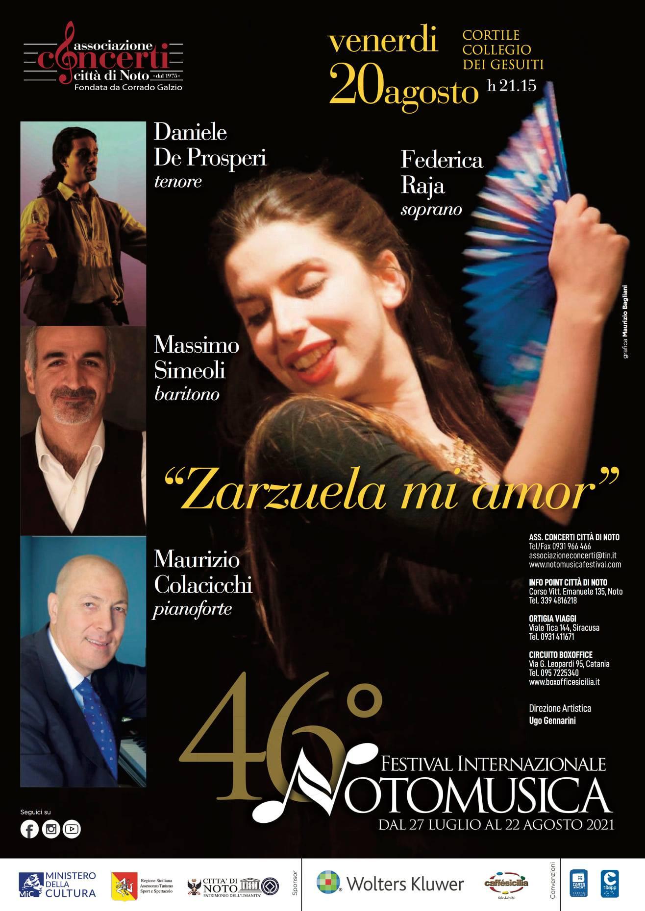 Omaggio alla Zarzuela, l'operetta spagnola